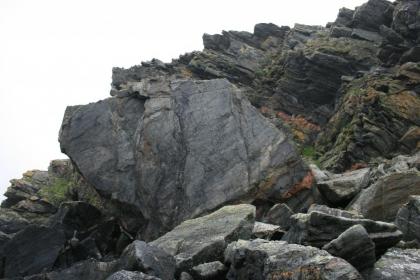 Westside boulder beach, 7m high