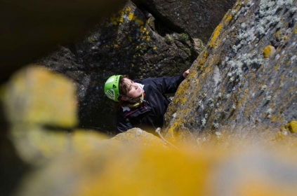 Nathalie seconding at Ness of Sound