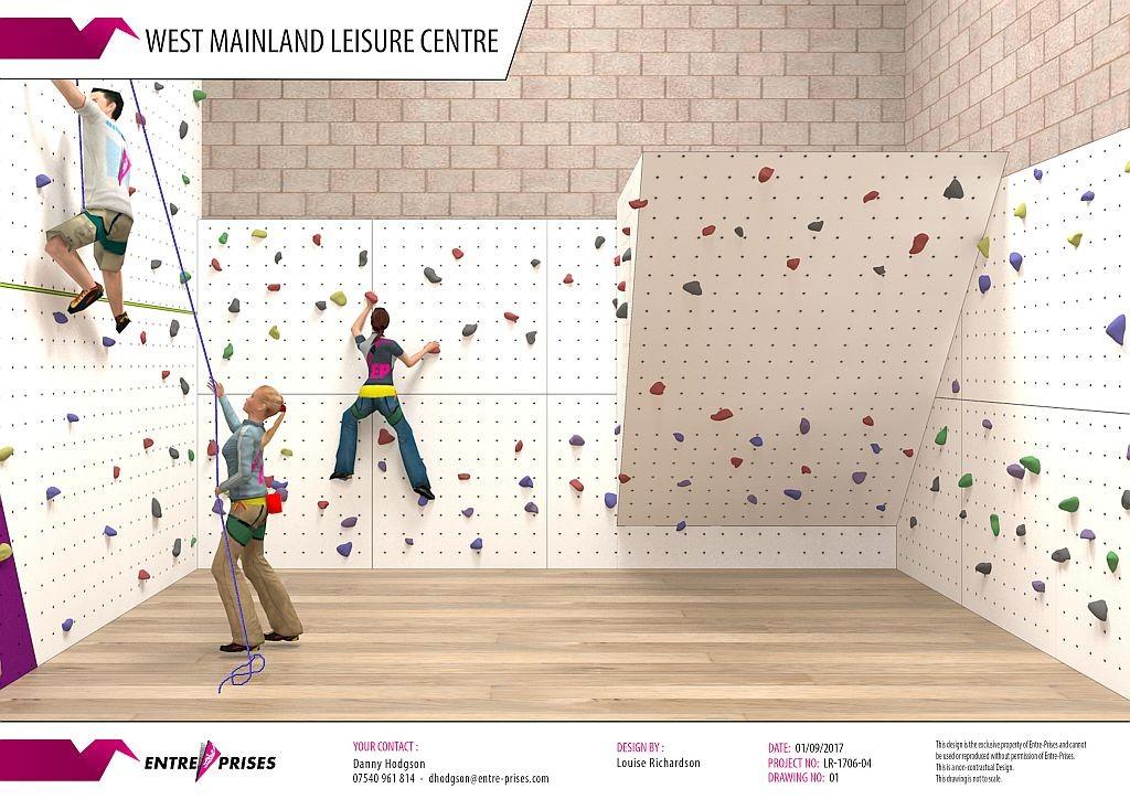 Aith Climbing Wall 1