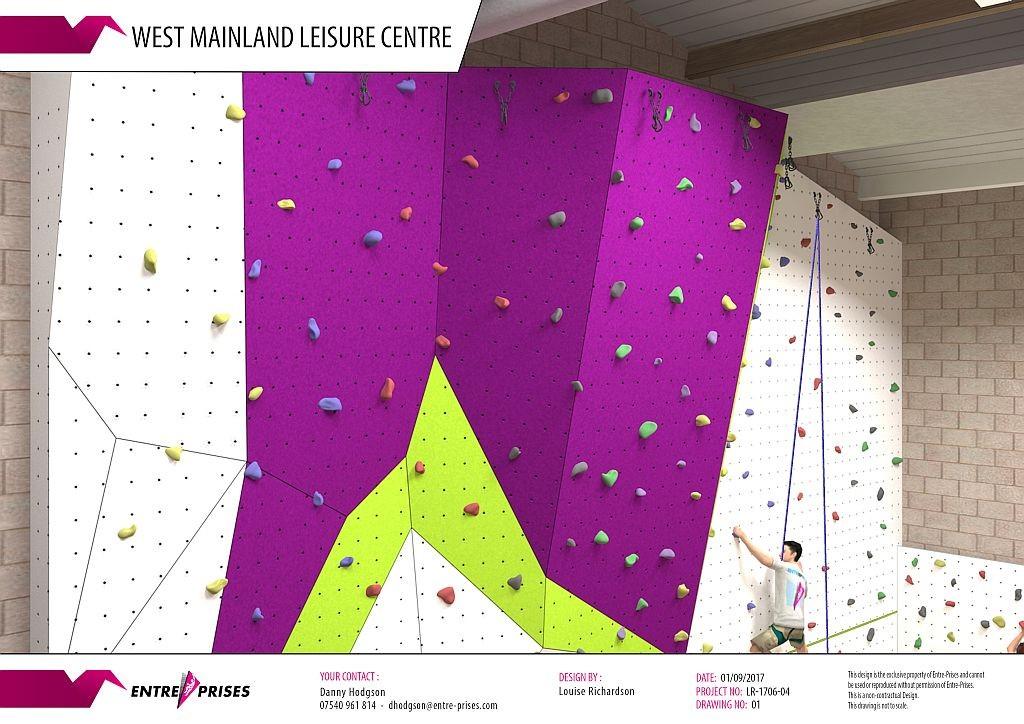 Aith Climbing Wall 2